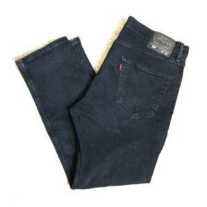 Levi's Dark Wash Regular Tapered Jeans 34/29